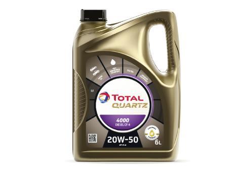 Total Quartz Diesel 4000 20W-50