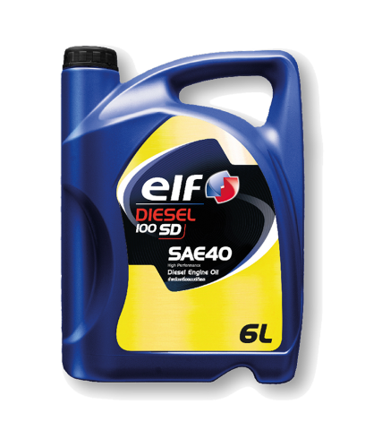 ELF Diesel 100 SD SAE-40
