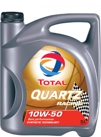TOTAL QUARTZ RACING 10W-50, 10W-60