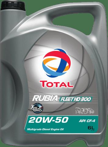 TOTAL RUBIA FLEET HD300 20W-50