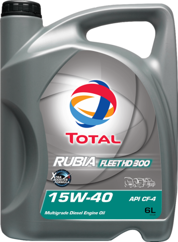 TOTAL RUBIA FLEET HD 300 15W-40