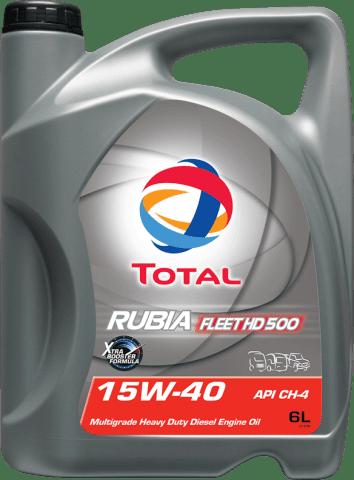 TOTAL RUBIA FLEET HD 500 15W-40